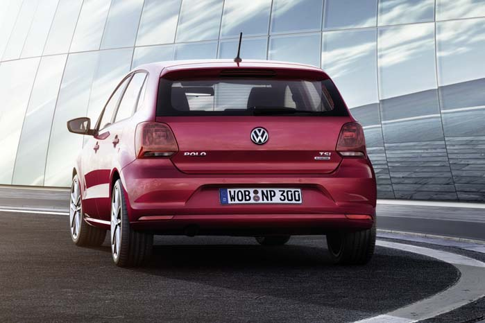 Med den nye Polo følger også en variant med 90 hk 1,2 TSI-motor.