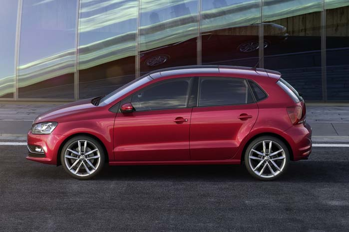 Van-udgaven ombygges på basis af det CO2-dokument,. som indgår ved typegodkendelsen af VW Polo som personbil således, at varebilen blot skal synes ved registrering.