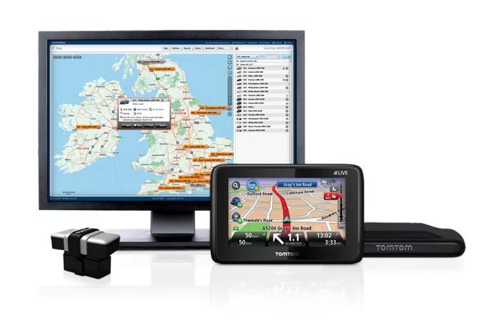 Med TomTom navigation og GPS-baseret flådestyring kan distributionskørsel med Fiat Fiorino og Doblò Cargo nu dirigeres mere præcist og økonomisk.