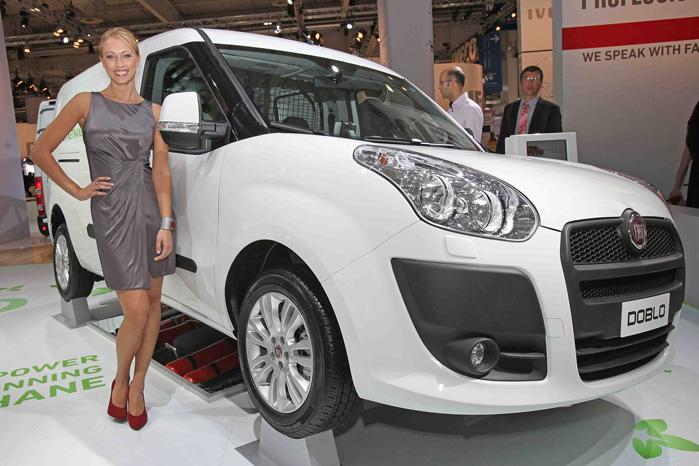 Fiat Doblo har længe kunnet fås med gasdrift, men de begrænsede tankningsmuligheder har hidtil dæmpet interessen