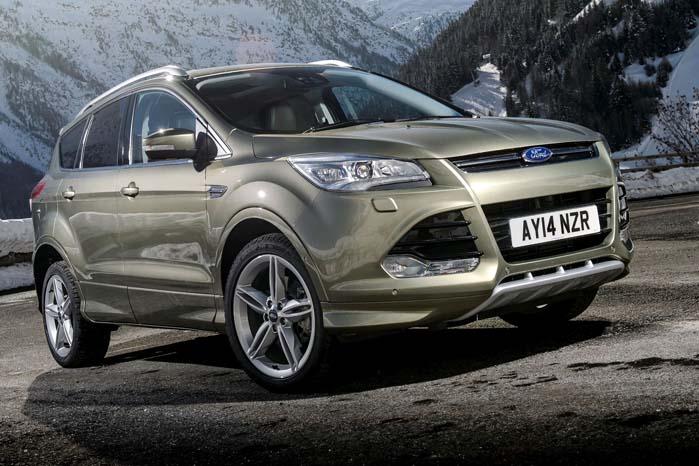 Kuga er SUV-trioens mellemste medlem og baseret på Fords C-platform, som også danner grundlag for Focus og C-Max modellerne samt Mazda3 og Volvo V40.