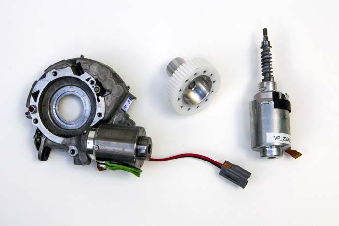 Den såkaldte actuators kombination af en lille el-motor og et gearsystem vil ifølge Ford kunne optimere styringen væsentligt, og det vil i 2015 blive lanceret til en række europæiske Ford-modeller.