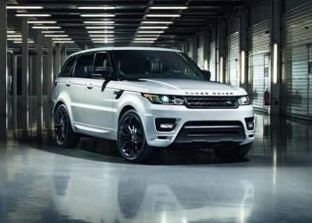 Range Rover Sport med Stealth Pack.