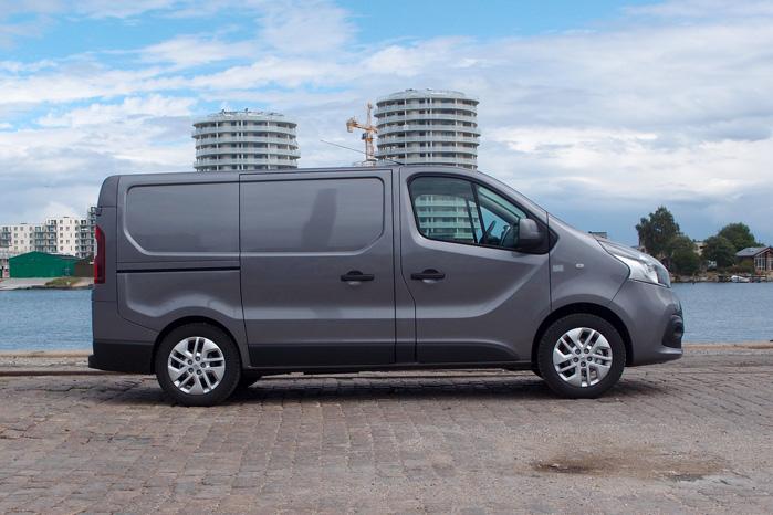 Renault Trafic er blev 13 cm længere, men den synes stadig meget kompakt