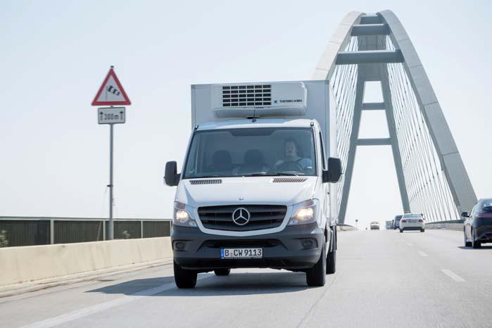 Mercedes-Benz satser på en bred vifte af nye drivmiddel-teknologier. Sprinter med gasmotor er bare en af dem