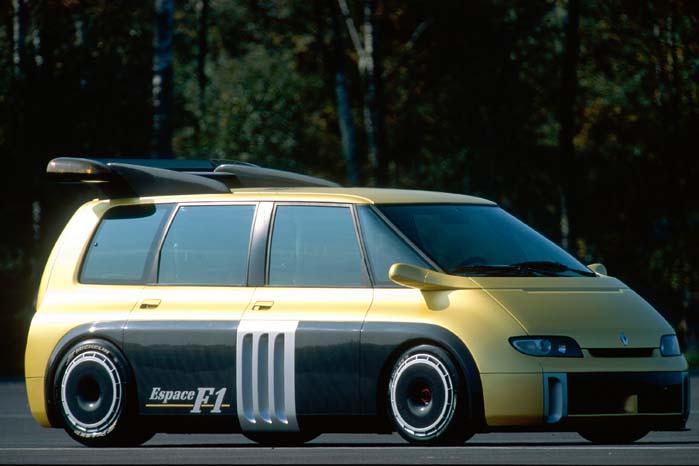 En meget speciel variation over Espace-temaet fra 1994 var denne Williams F1 V10-version, som blev specialbygget i to eksemplarer baseret på den første modelgeneration.