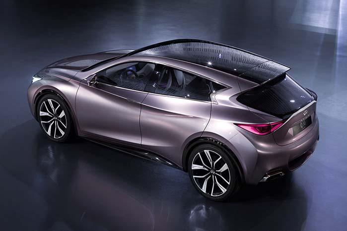 Q30 Concept - optakten til den 5-dørs hatchback Q30 og SUV-udgaven QX30, der kommer i 2015.