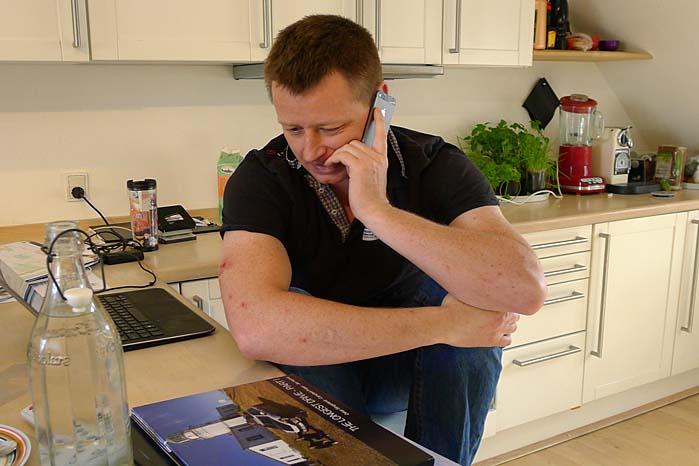 Kan man sidde ved køkkenbordet i en  taglejlighed og planlægge en verdensrekord? Jan Kalmar kan