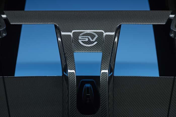 Jaguar Land Rovers Special Vehicle Operations har markeret, hvor den blåsorte cykeltransporter kommer fra.