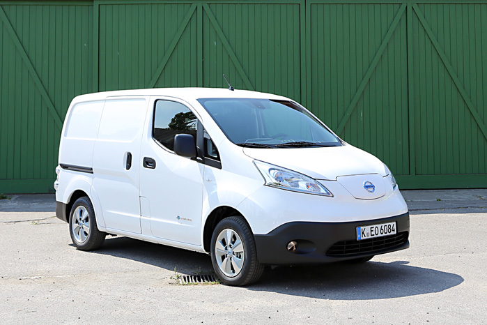 Nissan e-NV200 er en af de el-biler, der nyder godt af afgiftsfritagelsen