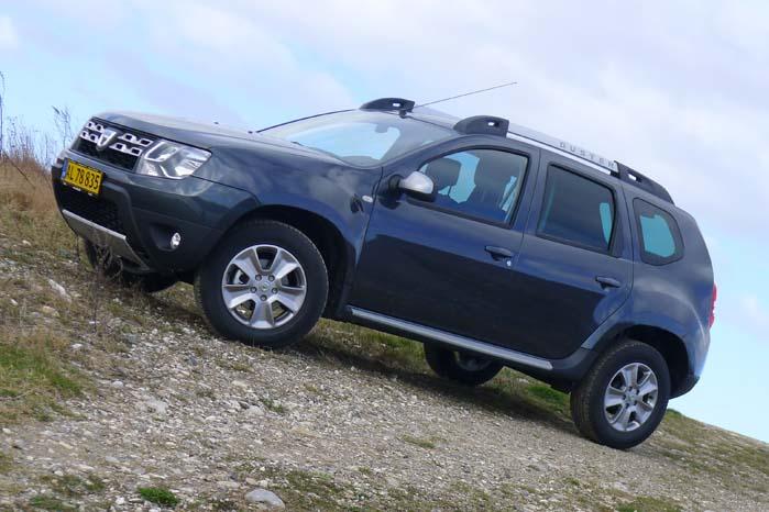 SUV'en Duster er den senest lancerede Dacia-model, og salget af den er kommet godt fra start og er fortsat på vej opad.