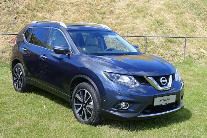 Nissan X-Trail er blevet større og rummeligere - også som varebil.