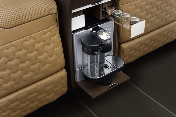 En dampende espresso er lige ved hånden, hvis mødet kræver det ...
