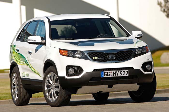 Kia har i længere tid syslet med hybrid-teknologi i den nuværende Sorento - og i SUV-konceptet Cross GT, så bliv ikke overrasket, dersom den nye Sorento også kommer i en hybrid-version.