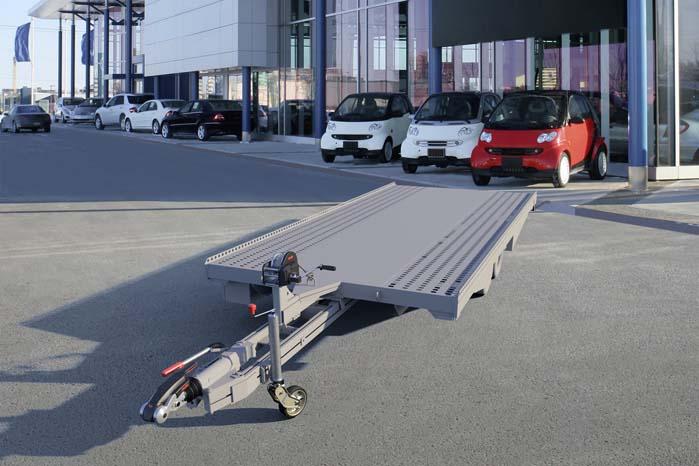 Serien af trækspil til montering på vognlad og trailere er forbedret og udvidet.