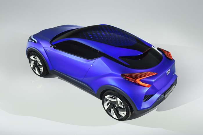 Toyota har med C-HR konceptet gjort klar til at give udfordrende  konkkurrenter råt for usødet.