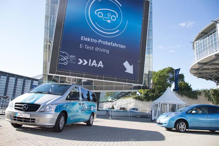 Alternative drivformer kommer til at spille en stadig større rolle til specifikke transportopgaver, og det kan man få lejlighed til at prøve ved IAA 2014.