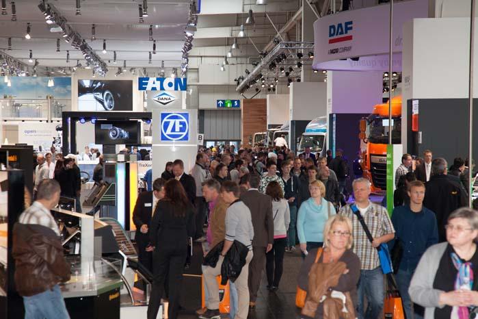 Den store transportmesse i Hannover spænder fra spektakulære koncepter til ordinære varebiler og trucks.