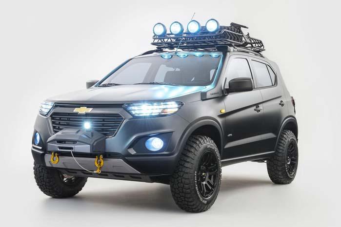 Chevrolet Niva klædt på til off-roading.