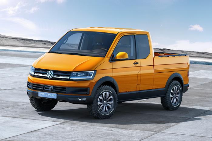 Undervognen er VW's Syncro med låsbare differentialer, og frihøjden er forøget med 30 mm