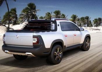 Dacia Duster skåret til som pick-up og spiffet til latinamerikanske windsurfere og andre med behov for transport af lettere gods.