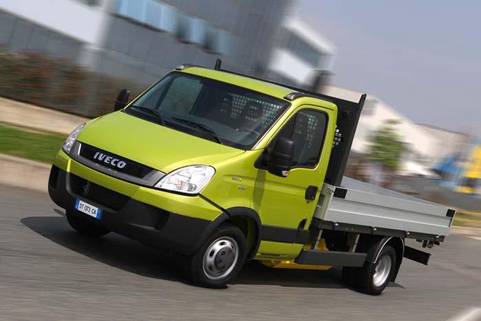Iveco Daily med CNG-drift, ligeså effektiv som diesel, men billigere og renere.