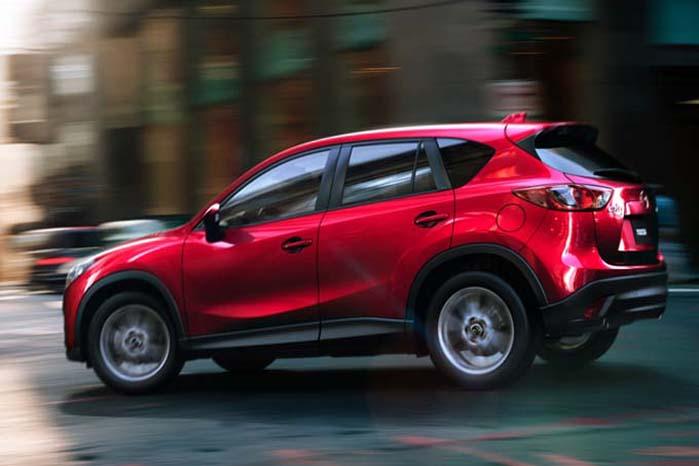 Mazda CX-5 er en 5-sædet SUV, der også gør sig som varebil.