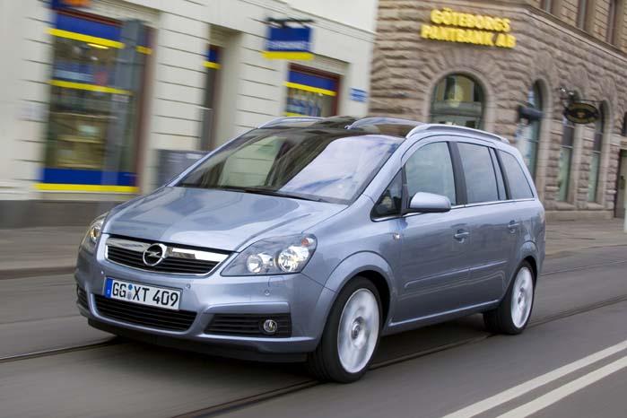 Opel Zafira står ligesom den mindre Meriva foran en transformering til en SUV baseret på en platform fra PSA-gruppen, som i dag har en bred vifte af modelvarianter baseret på nogle få chassiser.