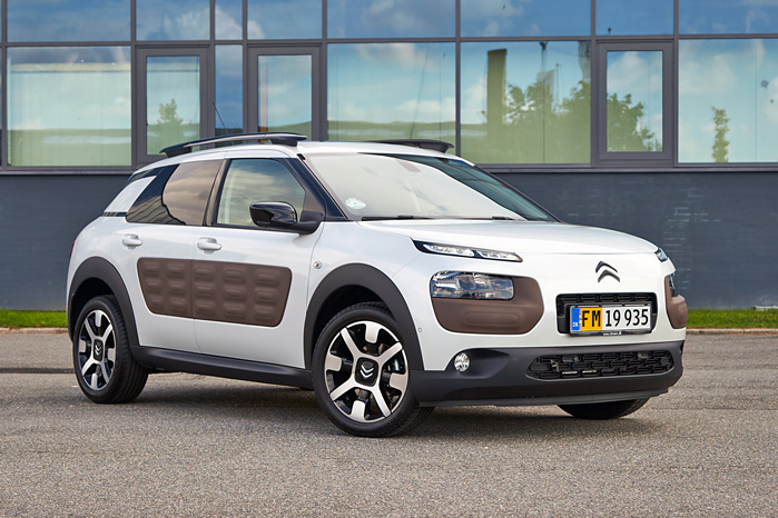 Citroën C4 Cactus Sportvan er Citroëns mest efterspurgte varebil overhovedet