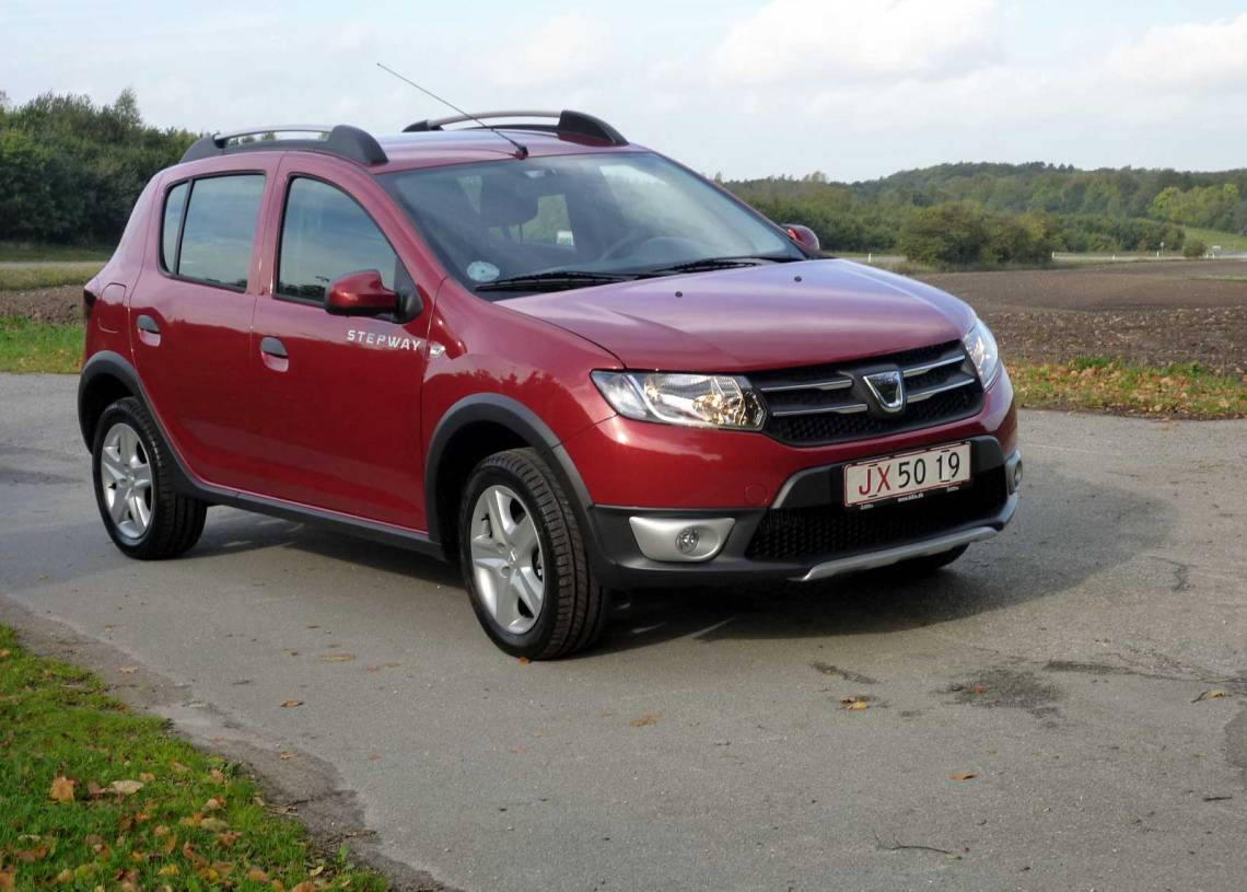 Dacia Sandero Stepway er en ægte 4x4 look-alike, men har mange dyder