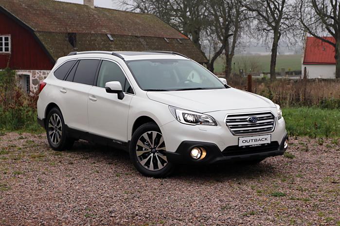 Subaru har et skidt ry for deres mangel på design, men der er klare dynamiske tendenser i næste generation af Outback
