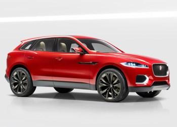 Vi har kun set venstre baglygte, men Jaguar siger selv, at F-Pace får en påfaldende lighed med konceptbilen C-X17