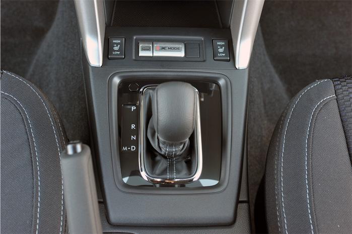 Det er ikke mange år siden, at det krævede både to og tre gearstænger at klare alt det, som denne enkle gearstang i Subaru Forester kan. Og så gør den det endda meget mere effektivt ved hjælp af Subarus Active Torque Split, som fordeler momentet til de hjul med bedst greb