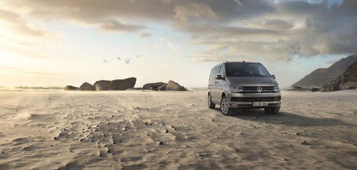 Surfs up! Den nye VW California har sæder til syv, stole i baklappen og plads til masser af fest