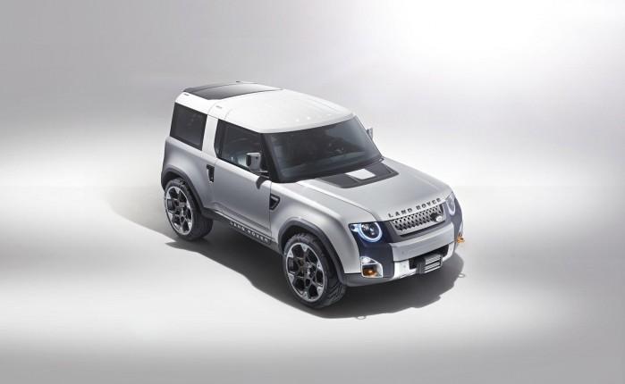 Land Rover har tidligere vist dette koncept, kaldet DC100.
