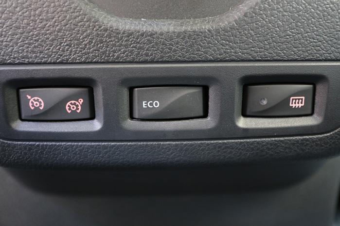 Eco og Eco. Der er ikke ret meget over Dokker van, der ikke er Eco, men skulle du flippe helt grønt, kan du altid dæmpe motorydelsen en sjat