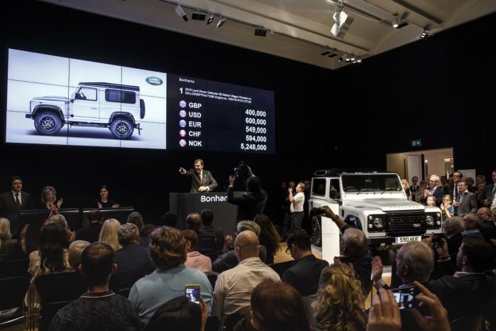 Land Rover Defender 2.000.000 er blevet solgt til utrolige fire mio. kr.