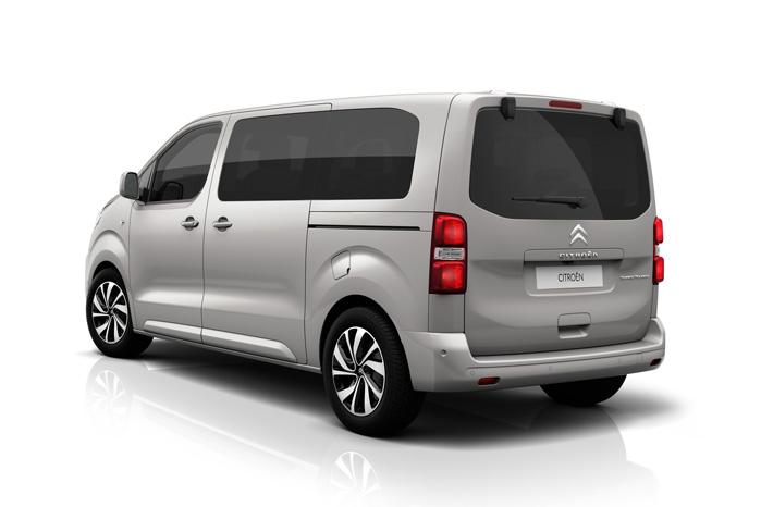 Citroën kalder deres busversion for Spacetourer, men vi ved jo godt, det er en Jumpy