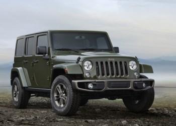 Tillykke med de 75 år Jeep. Her ses Jeep Wrangler i 75th Anniversary Edition.