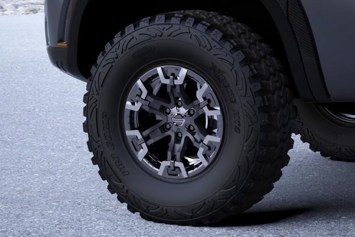 Hjulene måler 92,5 cm i omkreds.