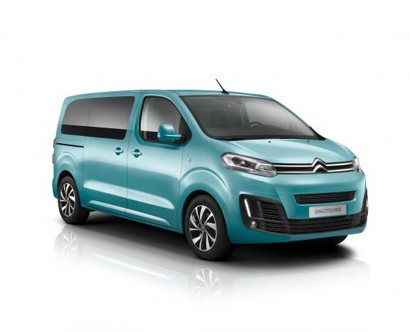 Citroëns nye varebil. Den hedder Spacetourer og er bygget på samme platform som Citroën Picasso.