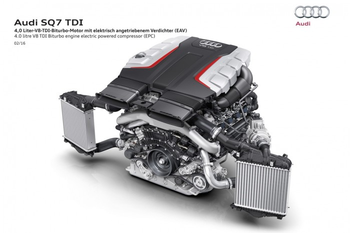 Den 4-liters V8'er er avanceret – sådan skal det være med en litereffekt på over 100 hk.