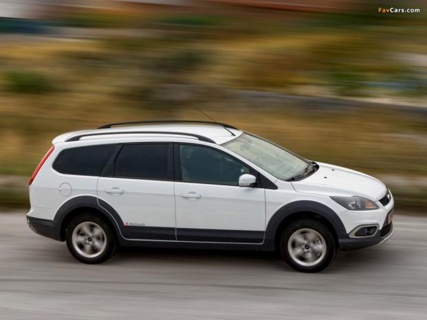 Ford vil have flere 'aktive' modeller på programmet. Her ses X Road fra 2009.