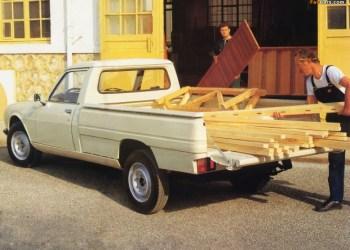 Peugeot har ikke så mange pickups på samvittigheden, men 504 er dog en klassiker.