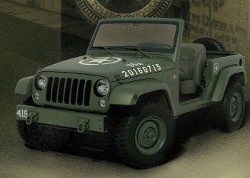 Jeep Wrangler 75th Salute er en hyldest til den originale Willys Jeep.