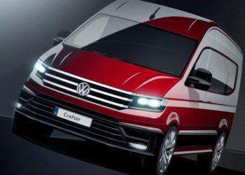 Volkswagen har endnu kun udsendt disse illustrationer, men de er nok ret tæt på den færdige model.