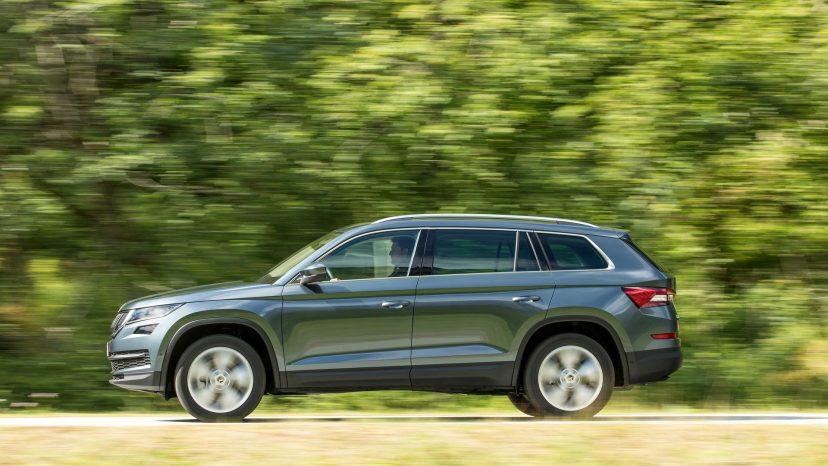 Kodiaq er Skodas første SUV, og til forskel fra søsteren Tiguan fra Volkswagen, har den plads til syv personer.
