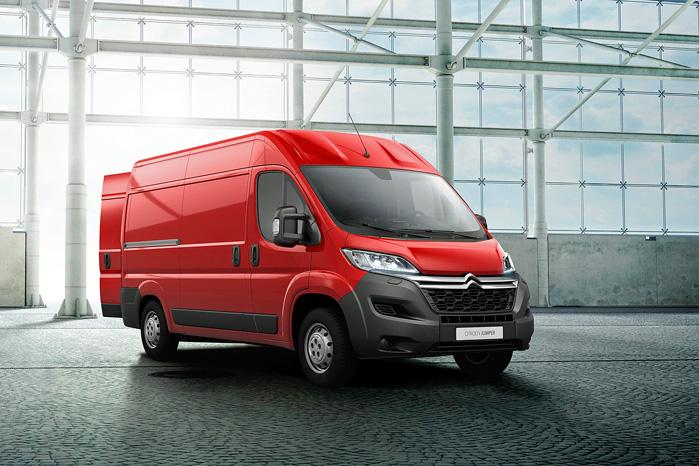 Citroën Jumper får tre toliters BlueHDI-motorer med ekstremt lavt forbrug