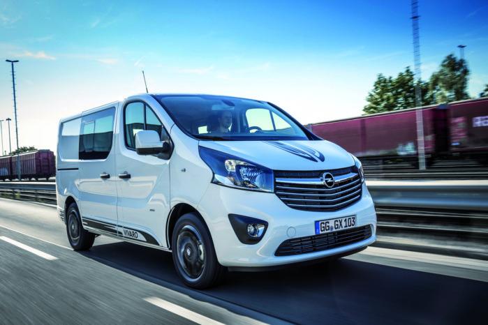 Opel Gør Vivaro Mere Sporty Med Fartstriber Alt Om Varebiler