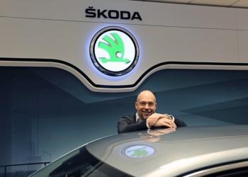 Direktør for Skoda i Danmark, Henrik Blom lover, at både personale, demobiler og markedsføring er klar til at servicere gulplade-kunderne i 2017